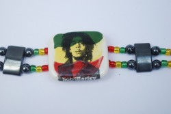 Oyamental Groove: Bracelet - Bob Marley design